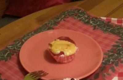 Salami-Ei-Muffins mit Käse - Rezept