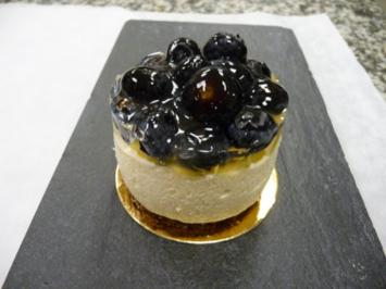 Blaubeer- Cheesecake - Rezept