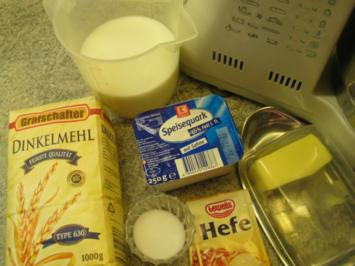 Brot + Brötchen: Quarkbrot pommersche Art - Rezept