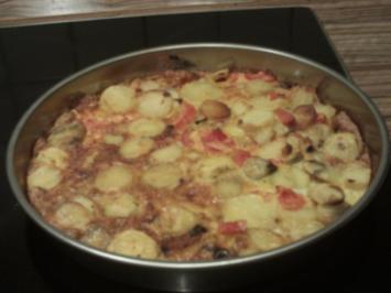 Tortilla im oriental style - Rezept