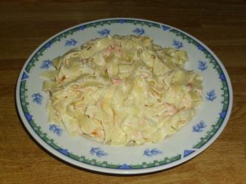 Räucherlachs Pasta - Rezept