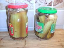 Eingelegte  Salat Gurken - Rezept