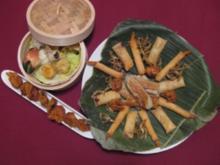 Gedünstete und frittierte Dim Sums - Rezept