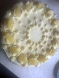 (Torten   )              Butter-Vanille-Crem-Torte - Rezept