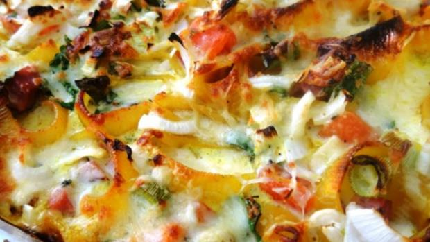 Pasta - Lumaconi - Gratinati - Rezept - Bild Nr. 7