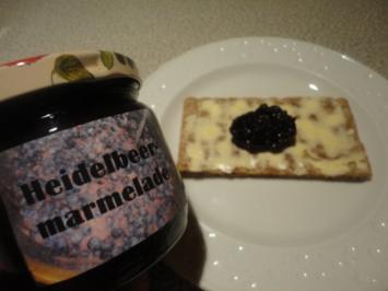 Rezept: Heidelbeer - Marmelade