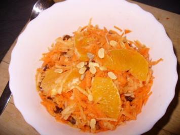 fruchtiger Karottensalat - Rezept