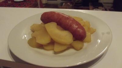 Schnitz und Drunder (ein altes Berner-Gericht) - Rezept