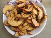 gesunde (Apfel) Chips - Rezept