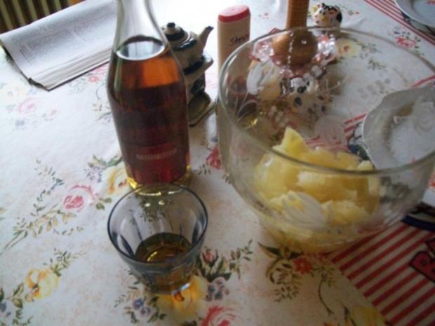 Annanas- Bowle - Käse - Stückchen & Lachs - Brötchen - Rezept - Bild Nr. 4