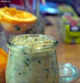 Oliven-Orangen-Pesto - Rezept