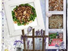 Salat : Feldsalat zum Knuspern...mit Hähnchen - Rezept