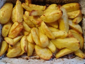 Würzige Ofen - Kartoffel - Rezept