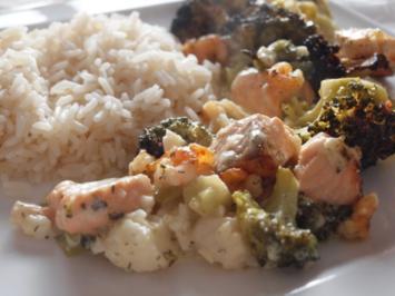 Broccoli liebt Fischli - Rezept