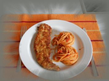 Schnitzel Mailänder Art - Rezept