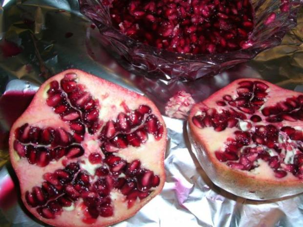 Entenbrust mit Granatapfelsauce und Walnüssen - Rezept - Bild Nr. 4
