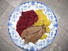 Gemüse: Rote-Bete-Gemüse mit Meerrettich - Rezept
