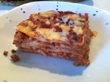 Vegane Lasagne - Rezept