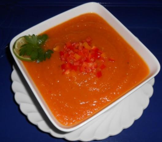 Karotten-Ingwer-Mango-Suppe - Rezept - Bild Nr. 11