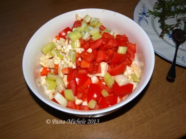Kalbfleisch mit weißen Bohnen                 (Vitello con fagioli bianchi) - Rezept - Bild Nr. 3