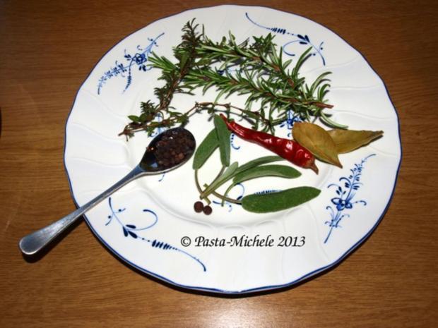 Kalbfleisch mit weißen Bohnen                 (Vitello con fagioli bianchi) - Rezept - Bild Nr. 2