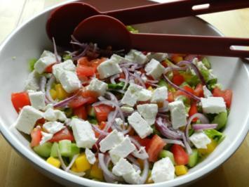 Heikes frischer Sommersalat - Rezept