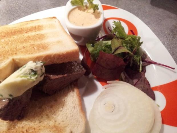 All American Steak Sandwich Toast - Rezept - Bild Nr. 2