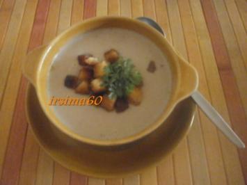 Kartoffel - Maronen - Creme Suppe - Rezept