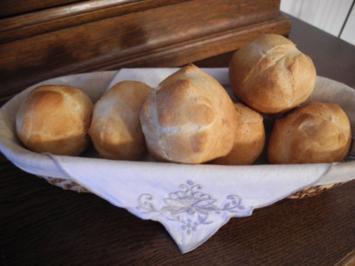 Brot & Brötchen : Quark - Vanille - Brötchen - Rezept