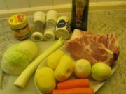 Suppen + Eintöpfe: Weißkohl und andere Reste, die verbraucht werden sollten - Rezept