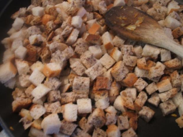 Knödel: Gemüseknödel auf Meerrettich-Käse-Soße - Rezept - Bild Nr. 4
