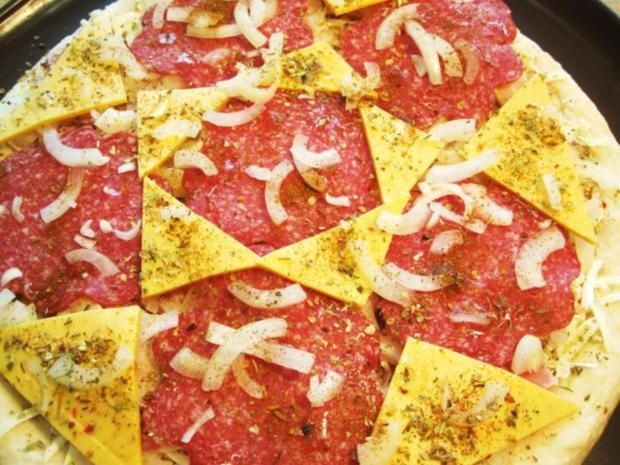 Verlegenheits-Pizza ... - Rezept - Bild Nr. 3