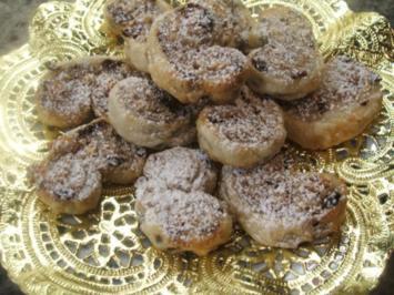Backen: Süße Nascherei aus Blätterteig - Rezept