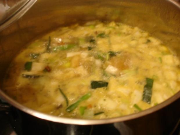 Kartoffelsuppe à la Papa mit Lachsstreifen - Rezept - Bild Nr. 5
