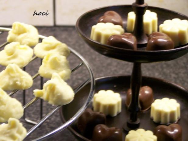 mes quatre chocolats fovoriten ~ mein vier Pralinen Favoriten - Rezept - Bild Nr. 4