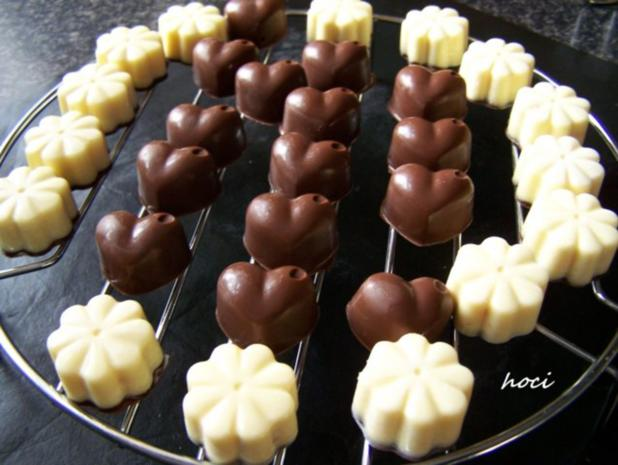 mes quatre chocolats fovoriten ~ mein vier Pralinen Favoriten - Rezept - Bild Nr. 7