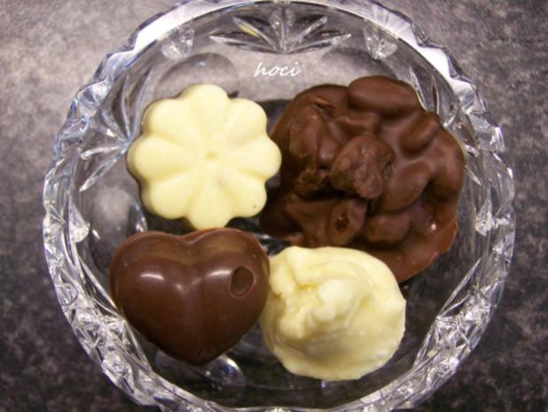 mes quatre chocolats fovoriten ~ mein vier Pralinen Favoriten - Rezept - Bild Nr. 9