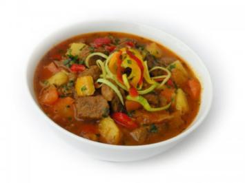 Rezept: Bulgarischer Eintopf mit Rindfleisch