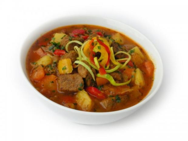 Bulgarischer Eintopf mit Rindfleisch - Rezept