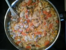 Reispfanne aus Resten - Rezept
