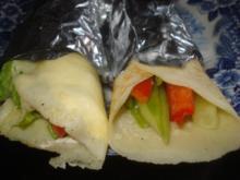 Power Wraps mit Gemüse - Rezept