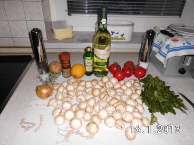 Lecker saftiges Champignon Gemüse - Rezept - Bild Nr. 2