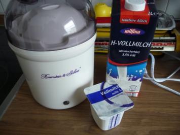 Selbstgemachter Joghurt für mein Frühstücksmüsli - Rezept