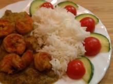 Garnelen-Kokos-Curry (Prawn Malaikari) - Rezept