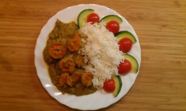 Garnelen-Kokos-Curry (Prawn Malaikari) - Rezept - Bild Nr. 2