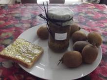 Kiwi-Confiture - Rezept
