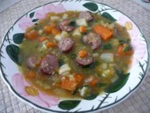 Suppen & Eintöpfe :  Heißes Süppchen zum Wieder-gesund-werden und bleiben - Rezept