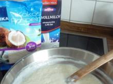 Kokos - Milchreis mit Hefeflocken - Rezept