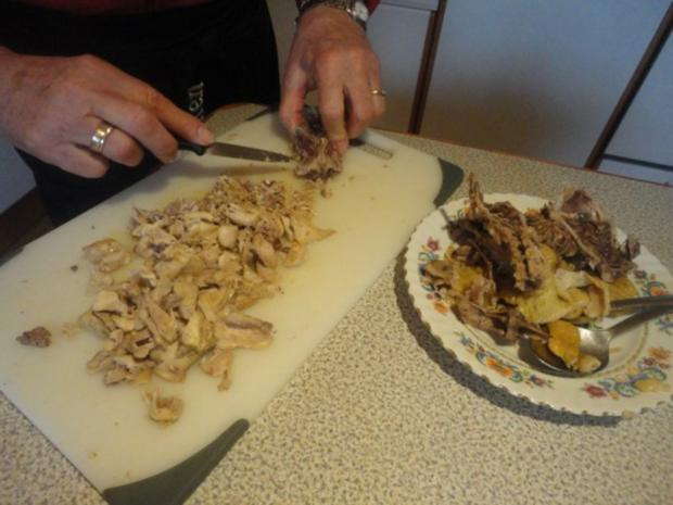 eingemachte Hühner Suppe mit Brösel Knödel - Rezept - Bild Nr. 5