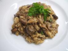 Reis: Risotto mit Pilzen - Rezept
